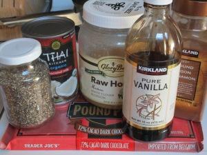 Brain pudding ingredients